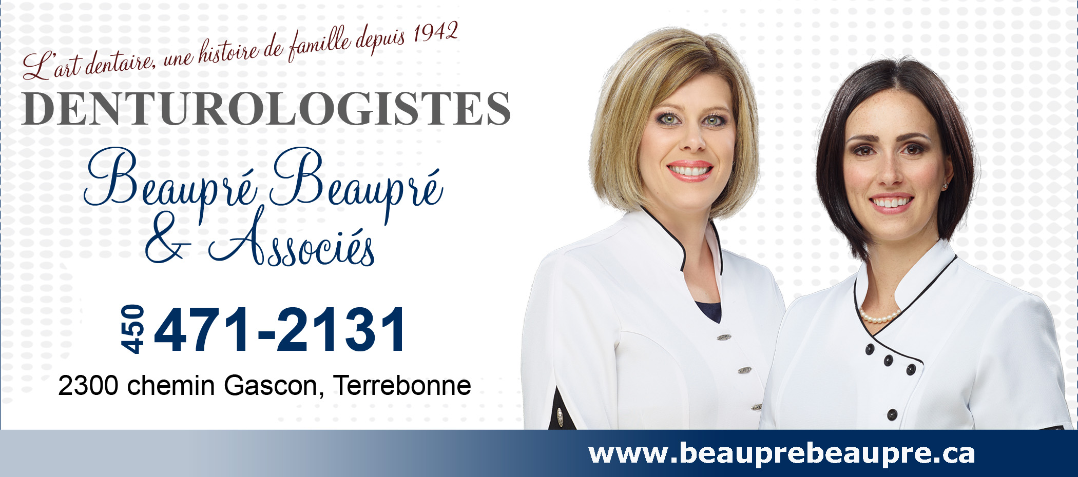 Denturologiste Beaupré et Beaupré