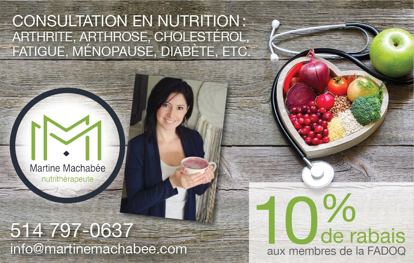 Martine Machabée, Neutrithérapeute